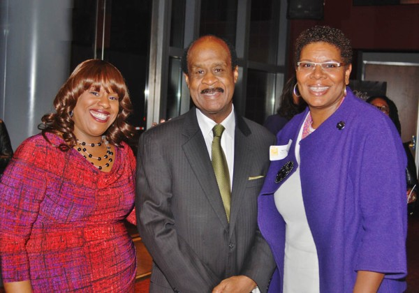 From left to right: C. Marie Henderson, Hon. Ike Leggett, Terri Freeman (President, The Community Foundation for the National Capital Region)