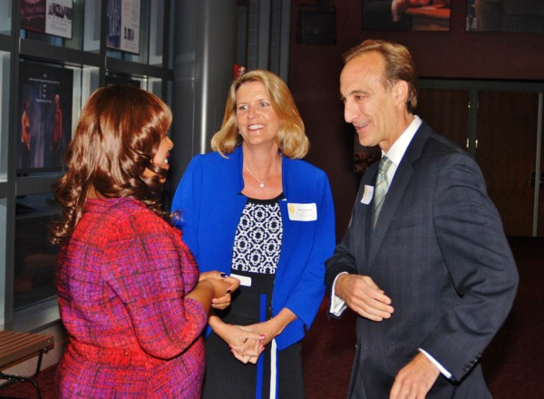 From left to right: C. Marie Henderson, Mary Pat Alcus (Board Chair, The Community Foundation for Montgomery County), Craig Pernick